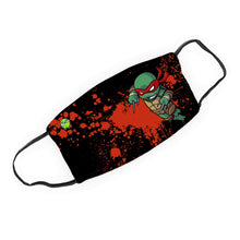 "Load image into Gallery viewer, ""Raph"" - Meents Illustrated Authentic Design Face Mask - JAXGFX"