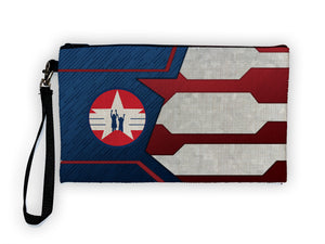 """CAP For Kids - Shield"" Meents Illustrated Authentic Large Pencil/Device Bag"
