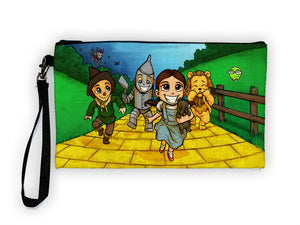 """Yellow Brick Road OZ"" Meents Illustrated Authentic Large Pencil/Device Bag"