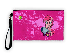 """Pinkie Pie"" Meents Illustrated Authentic Large Pencil/Device Bag"