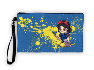"""Snow White"" Meents Illustrated Authentic Large Pencil/Device Bag"