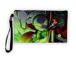 """Spawn"" Meents Illustrated Authentic Large Pencil/Device Bag"