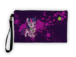 """Twilight Spike"" Meents Illustrated Authentic Large Pencil/Device Bag"
