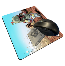 "Load image into Gallery viewer, ""Red Rocket Wagon"" Meents Illustrated Authentic Mouse Pad"