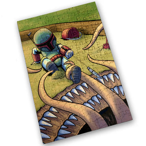 """Sarlacc Box"" - Meents Illustrated Authentic Design - 120 Piece Jigsaw Puzzle"