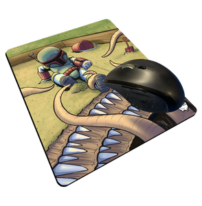 """Sarlacc Box"" Meents Illustrated Authentic Mouse Pad"