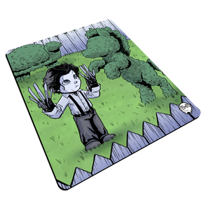 """Scissorhands"" Meents Illustrated Authentic Mouse Pad"