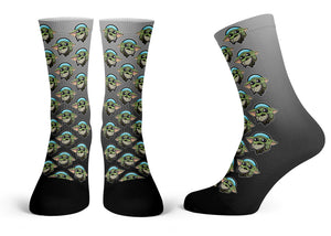"""The Child Pattern"" - Meents Illustrated Authentic Kids Socks"