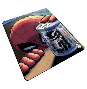 """Venom Jar"" Meents Illustrated Authentic Mouse Pad"