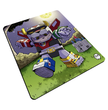 "Load image into Gallery viewer, ""Voltron"" Meents Illustrated Authentic Mouse Pad"
