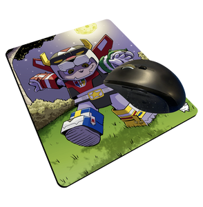 """Voltron"" Meents Illustrated Authentic Mouse Pad"