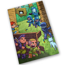 "Load image into Gallery viewer, ""Yo Joe"" - Meents Illustrated Authentic Design - 120 Piece Jigsaw Puzzle"