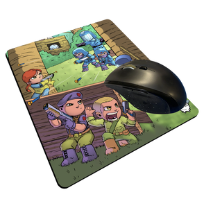 """Yo Joe"" Meents Illustrated Authentic Mouse Pad"