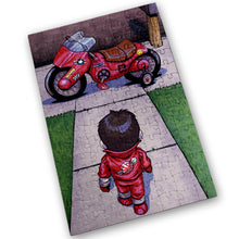 "Load image into Gallery viewer, ""Akira"" - Meents Illustrated Authentic Design - 120 Piece Jigsaw Puzzle"