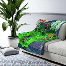 "Load image into Gallery viewer, ""TMNT"" 50""x60"" - Meents Illustrated Authentic - Sherpa Fleece Blanket - JAXGFX"