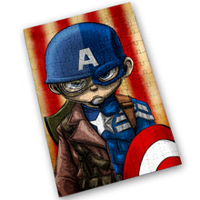 "Load image into Gallery viewer, ""CAP"" - Meents Illustrated Authentic Design - 120 Piece Jigsaw Puzzle"