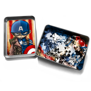"""CAP"" - Meents Illustrated Authentic Design - 120 Piece Jigsaw Puzzle"