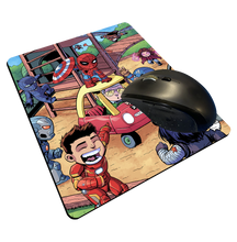"Load image into Gallery viewer, ""Civil War"" Meents Illustrated Authentic Mouse Pad"