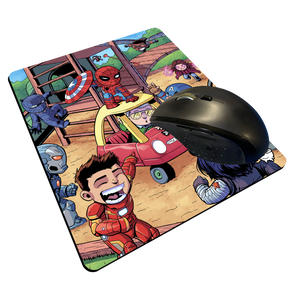 """Civil War"" Meents Illustrated Authentic Mouse Pad"