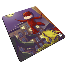"Load image into Gallery viewer, ""Daredevil Highwire"" Meents Illustrated Authentic Mouse Pad"