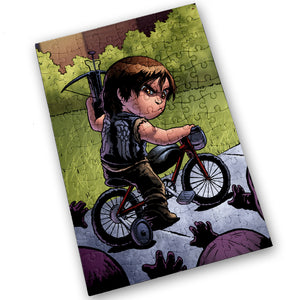 """Daryl"" - Meents Illustrated Authentic Design - 120 Piece Jigsaw Puzzle"