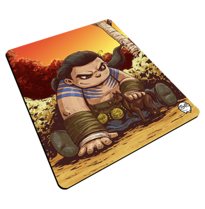 """Drogo"" Meents Illustrated Authentic Mouse Pad"