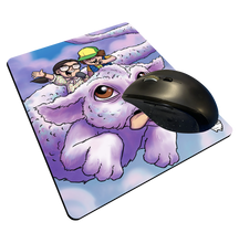 "Load image into Gallery viewer, ""Dusty & Suzie"" Meents Illustrated Authentic Mouse Pad"