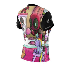 "Load image into Gallery viewer, ""Tea Party"" Full Sublimated Cut & Sew Tee - JAXGFX"