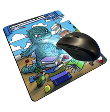 "Load image into Gallery viewer, ""Godzilla"" Meents Illustrated Authentic Mouse Pad"