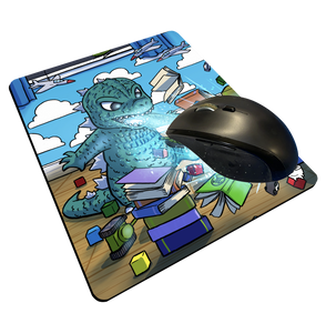 """Godzilla"" Meents Illustrated Authentic Mouse Pad"