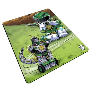 """Green Ranger"" Meents Illustrated Authentic Mouse Pad"