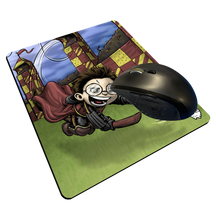 "Load image into Gallery viewer, ""Gryffindor Seeker"" Meents Illustrated Authentic Mouse Pad"