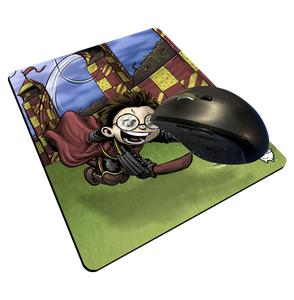 """Gryffindor Seeker"" Meents Illustrated Authentic Mouse Pad"