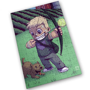 """Hawkeye"" - Meents Illustrated Authentic Design - 120 Piece Jigsaw Puzzle"
