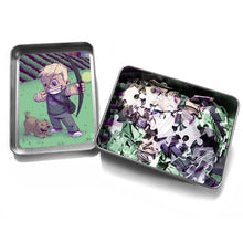 "Load image into Gallery viewer, ""Hawkeye"" - Meents Illustrated Authentic Design - 120 Piece Jigsaw Puzzle"