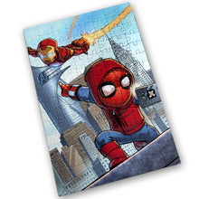 "Load image into Gallery viewer, ""Homecoming"" - Meents Illustrated Authentic Design - 120 Piece Jigsaw Puzzle"