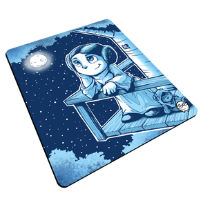 """Leia"" Meents Illustrated Authentic Mouse Pad"