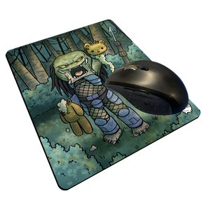 """Predator Trophy"" Meents Illustrated Authentic Mouse Pad"