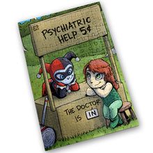 "Load image into Gallery viewer, ""Psychiatric Help"" - Meents Illustrated Authentic Design - 120 Piece Jigsaw Puzzle"