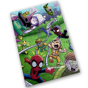 """Sinister 6"" - Meents Illustrated Authentic Design - 120 Piece Jigsaw Puzzle"