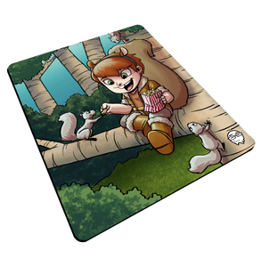 """Squirrel Girl"" Meents Illustrated Authentic Mouse Pad"