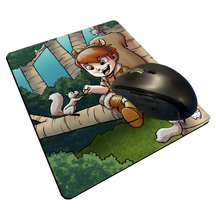 "Load image into Gallery viewer, ""Squirrel Girl"" Meents Illustrated Authentic Mouse Pad"
