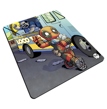 "Load image into Gallery viewer, ""Taco Heist"" Meents Illustrated Authentic Mouse Pad"