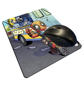 """Taco Heist"" Meents Illustrated Authentic Mouse Pad"