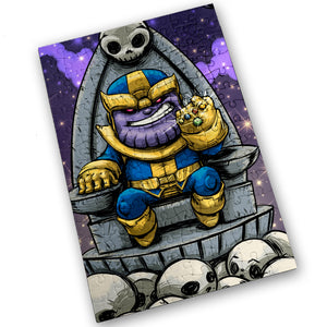 """Thanos"" - Meents Illustrated Authentic Design - 120 Piece Jigsaw Puzzle"