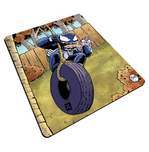 "Load image into Gallery viewer, ""Venom Swing"" Meents Illustrated Authentic Mouse Pad"
