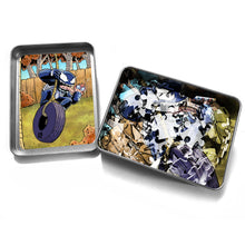 "Load image into Gallery viewer, ""Venom Swing"" - Meents Illustrated Authentic Design - 120 Piece Jigsaw Puzzle"
