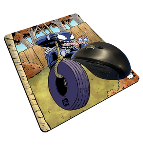 """Venom Swing"" Meents Illustrated Authentic Mouse Pad"