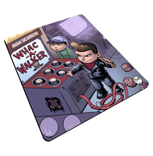 "Load image into Gallery viewer, ""Whac A Walker"" Meents Illustrated Authentic Mouse Pad"