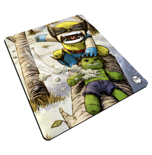 "Load image into Gallery viewer, ""Wolverine"" Meents Illustrated Authentic Mouse Pad"